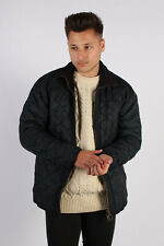 Vintage Barbour Classic Quilt Jacket Timeless England Design Chest:44 Navy BR707