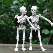 Creative Halloween Movable Skeleton Human Model Skull Full Body Mini Figure Toy