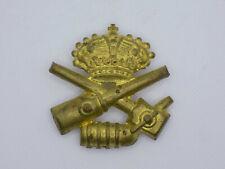 Original Wwi Italian Army M1909 Artillery Cap Badge