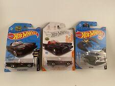 Hot Wheels 2020 TV Series Batmobile ID Rare Treasure Hunt + Batmobile & Batplane