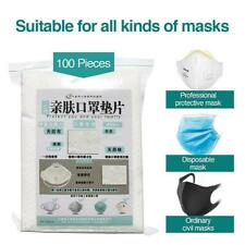 100PCS Face Mask Filter Pad Replacement Activated Breathing US STOCK