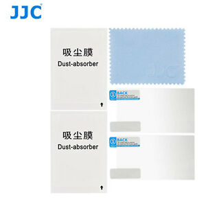 JJC LCP-TG4  polycarbonate LCD Film Screen Protector Olympus TG4 2PacK