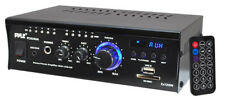 Pyle PCAU46A 2 X 120 Watt Stereo Mini Power Amplifier
