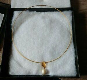 AAA 45 cm 8 mm Luxus Süßwasser Perlenschmuck Perlen Kette Echtschmuck Collier