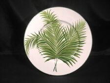 "Vietri Villa Palma Palmetto Charger Plate Display 12 3/8"" diameter"