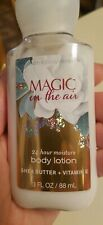BATH AND BODY WORKS*MAGIC IN THE AIR*Lotion Cream 95% full 3 fl oz ☆☆
