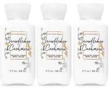 Bath Body Works 3oz Snowflakes and Cashmere Body Lotion