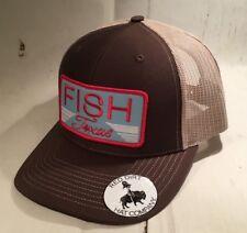 Red Dirt Fish Texas Richardson 112 Snapback Trucker hat