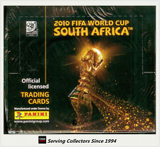 2010 Panini South Africa World Cup Soccer Trading Card Card Box (36) x 3
