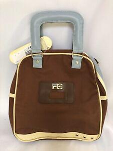 Fila Canvas Medium Size Retro Vintage Style Handbag New with tags