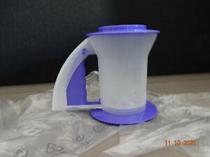 Tupperware® D26 Rucki-Zucki Mehlsieb, Kakao Puderzuckersieb backen blau  Neu/OVP
