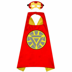 Kids Superhero Capes Avengers Capes Halloween Cosplay and Stage Show Dress Up