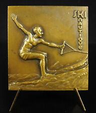Médaille sky nautique ville de Perreux sur Marne sport aquatique nautique medal