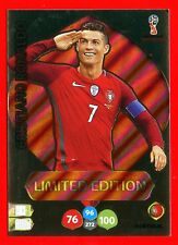 WC RUSSIA 2018 -Panini Adrenalyn- Card Limited Edition - RONALDO - PORTUGAL