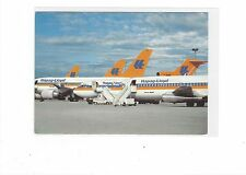 Hapag-Lloyd Airlines jet fleet cont/l postcard #3