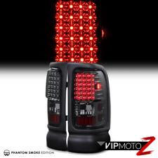 Dodge Ram V8 Pickup Truck 1994-2001 Smoke LED Tail Light Left+Right Signal Lamps