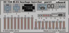 Eduard Accessories 32756 - 1:32 B-25 Fuselage Interior For Hk Models - Ätzsatz -