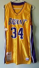 Nwt Unauthorized Rare Sample Basketball Jersey #34 Bryant Lakers Colors