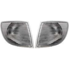 Mercedes Blinker Blinkleuchte SET Links Rechts weiß Vito Van V-Klasse + Fassung