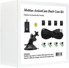 Mobius ActionCam Dash Cam Mounting Kit For Car DVR.