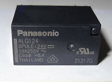 1 pc Relay 24V coil, 10A contact, SPDT by Panasonic P/N ALQ124