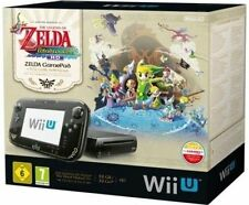 Console Nintendo Wii U (Dernier Modèle)- The Legend of Zelda: The Wind Waker HD Premium Pack 32 GB Noir (PAL)