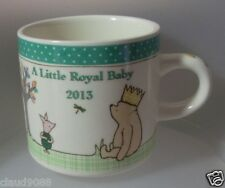 "CLASSIC POOH   ""ROYAL BABY MUG"" 2013 PORCELAIN  A25924 MINT IN BOX"