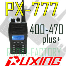 Puxing PX-777 PLUS UHF +Scrambler +ANI
