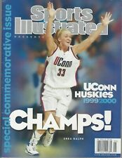 UCONN 1999-00 SPORTS ILLUSTRATED COMMEMORATIVE WOMENS BASKETBALL NATIONAL CHAMPS
