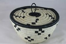 Serving Basket Natural Art Deco Inspirational Snack Serving Display FREE POSTAGE