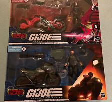 G.I. Joe Classified Series Cobra Island Breaker-W-Ram Cycle & Baroness -W-COIL
