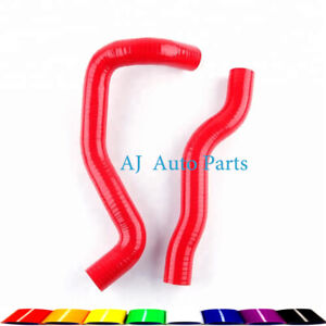 For Toyota Camry Bolt On 2007-2010 08 09 Silicone Coolant Pipe Radiator Hose RED