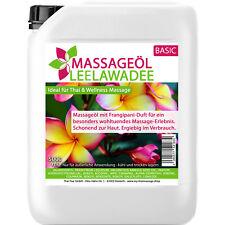 MyThaiMassage Massageöl Leelawadee 5 Liter (5000ml) Frangipani Plumeria