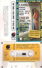 CAMILO SESTO y EMILIO JOSE Exitos  CASSETTE Jose Maria de las Heras NUDE COVER