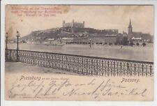 AK Bratislava, Pressburg, Burg, Kirche, 1901