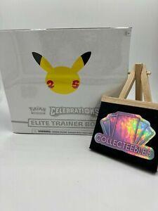 Pokemon TCG - 25th Anniversary Celebrations Elite Trainer Box ETB