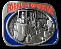 BELT BUCKLE FORKLIFT FORKLIFTS MACHINE OPERATORS OCCUPATION BOUCLE DE CEINTURE