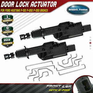 2x Door Lock Actuator for Ford F-150 F-250 F-350 Mustang Bronco Lincoln 746-156