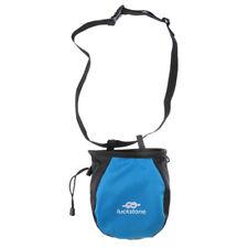 Chalk Bag for Gymnastics, Climbing, and Weight Lifting with Waist Belt Blue