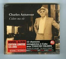 CD + DVD(NEUF) CHARLES AZNAVOUR CHUCHO VALDES COLORE MA VIE (EDITION LIMITEE)
