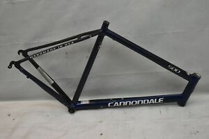 2000 Cannondale 500 Touring Road Bike Frame 58cm Large Blue USA Made BB Charity!