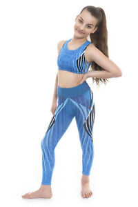 Deluxe Girls Show Gymnastic Gym Activewear for Dancewear, Gym and Dance Shows