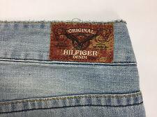 Tommy hilfiger denim jeans laurie donna w30 l34 blu azzurro relax gamba dritta