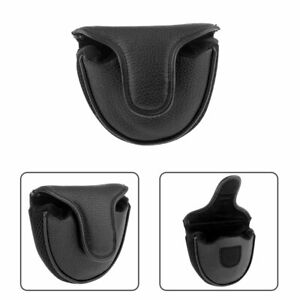 Soft Comfortable PU Golf Mallet Head Cover Club Protector & Putter Cover Kits