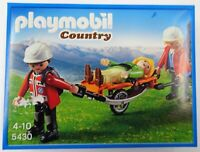 Playmobil 5430 - Bergretter mit Trage Country - NEU NEW OVP