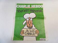 CHARLIE HEBDO N°1178 déchiré sur 4cm