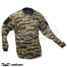 Valken Paintball V-Tac Echo Jersey - Tiger Stripe - XS **FREE SHIPPING**