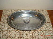 "REED & BARTON 11 1/2"" OVAL ""ARMETALE"" PEWTER ALLOY SERVING BOWL/CLEARANCE!"