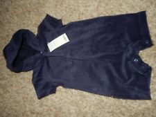 Nwt 3-6M GyMbOrEe Hoodie Hooded Terry Cloth Short Sleeve Romper Shorts Outfit