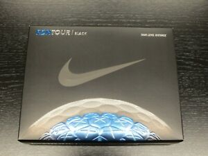 Nike RZN Tour Black Golf Balls - Brand New - 1 Dozen - 4 Sleeves - Free S&H